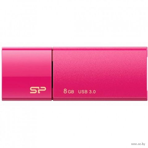 USB Flash Drive 8Gb Silicon Power Blaze B05 Peach — фото, картинка
