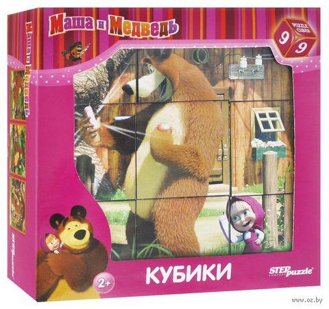 """Кубики """"Маша и Медведь"""" (9 шт.) — фото, картинка"""