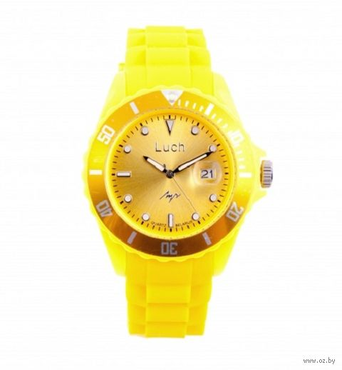 Часы наручные (жёлтые; арт. 728785932) — фото, картинка