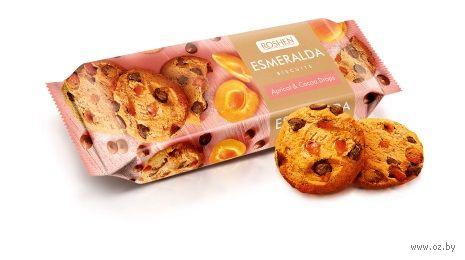 """Печенье """"Esmeralda. Apricot & Cocoa Drops"""" (150 г) — фото, картинка"""