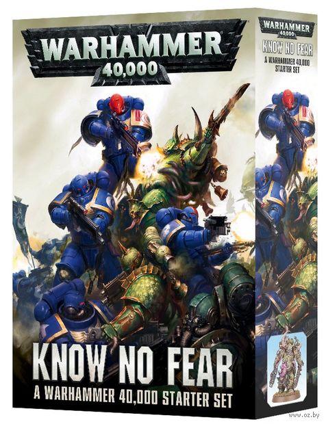 Warhammer 40.000. Know No Fear. Starter Set (40-03-60) — фото, картинка