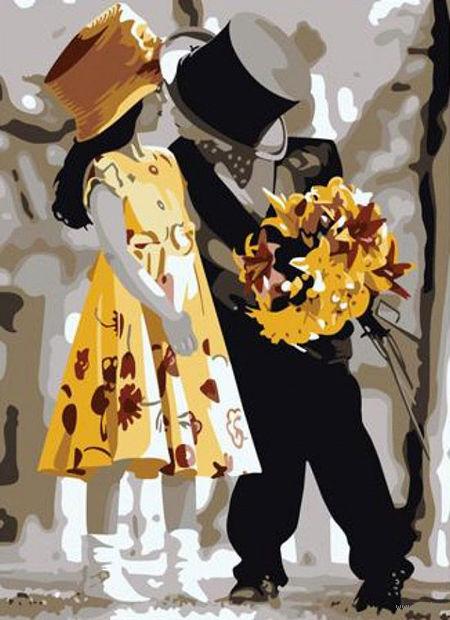 "Картина по номерам ""Жених и невеста"" (400x500 мм; арт. MG225)"