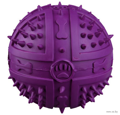 """Игрушка для собаки с пищалкой """"Мяч"""" (9 см)"""