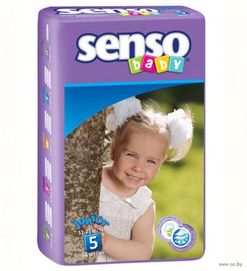 """Подгузники """"Senso baby. Junior"""" (11-25 кг; 56 шт.) — фото, картинка"""