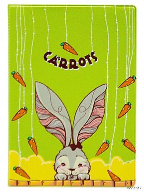 "Обложка на паспорт ""Carrots"" — фото, картинка"