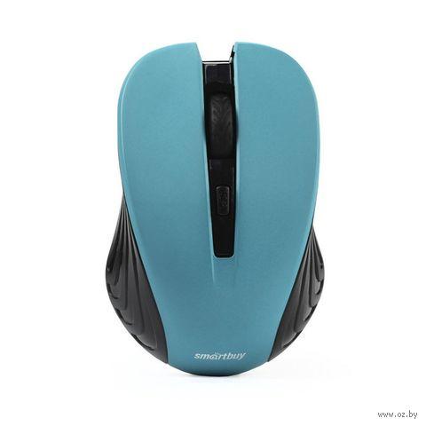 Мышь беспроводная Smartbuy ONE 340AG (бирюзовая) — фото, картинка