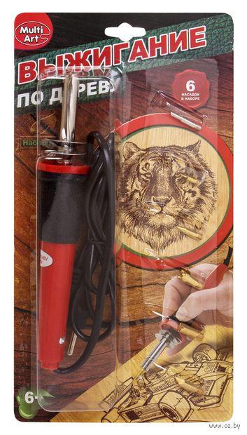 """Набор для выжигания по дереву """"Выжигательный аппарат"""" (арт. A02739-R) — фото, картинка"""