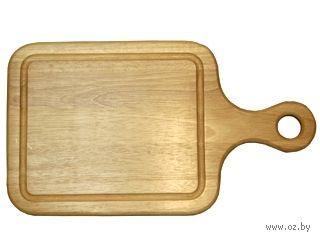 Доска разделочная деревянная (155х300х15 мм; арт. 9/744) — фото, картинка