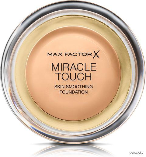 """Тональный крем для лица """"Miracle Touch Skin Smoothing Foundation"""" тон: 075 — фото, картинка"""