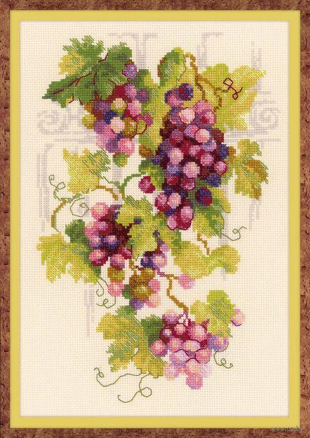 """Вышивка крестом """"Виноградная лоза"""" (210х300 мм) — фото, картинка"""