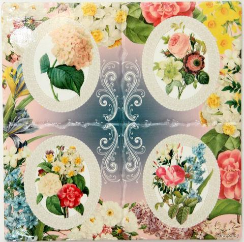 """Подставка под горячее """"Цветы"""" (арт. 40998/1) — фото, картинка"""