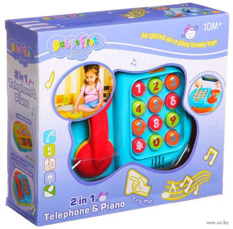 """Музыкальная игрушка """"Телефон-пианино"""" — фото, картинка"""