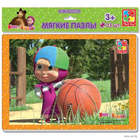 "Пазл мягкий ""Маша и Медведь"" (35 элементов)"