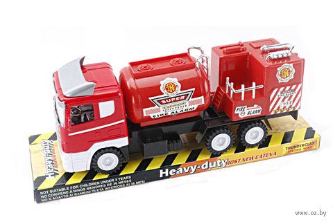 Пожарная машина инерционная (арт. 328-10) — фото, картинка
