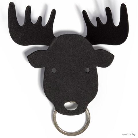 """Держатель для ключей и аксессуаров """"Moose"""" (черный)"""
