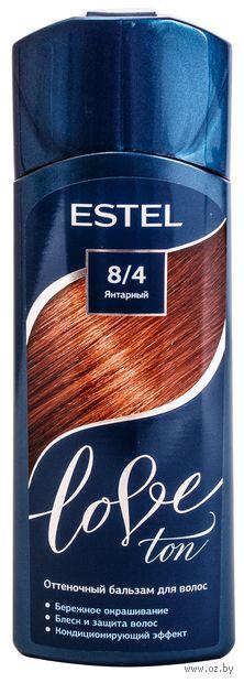 """Оттеночный бальзам для волос """"Love Ton"""" тон: 8/4, янтарный (150 мл) — фото, картинка"""