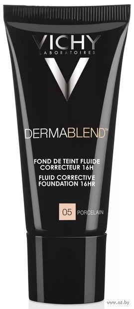 """Тональный флюид для лица """"Dermablend"""" (тон: 05, фарфоровый) — фото, картинка"""