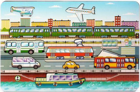 """Рамка-вкладыш """"Городской транспорт"""" — фото, картинка"""