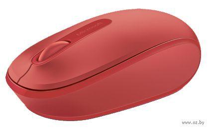 Беспроводная мышь Microsoft Mobile Mouse 1850 (красный)