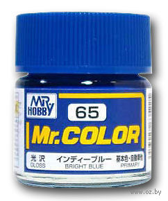 Краска Mr. Color (bright blue, C65)