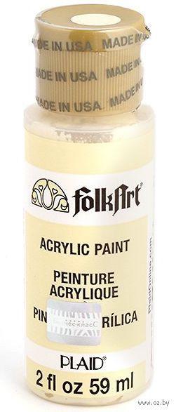 """Краска акриловая """"FolkArt. Acrylic Paint"""" (ириска, 59 мл; арт. PLD-00902)"""