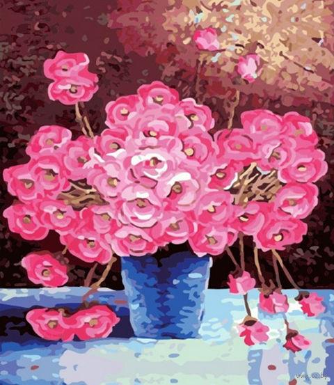 "Картина по номерам ""Розовое великолепие"" (500x650 мм; арт. MMC104)"