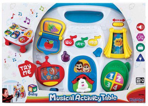 """Развивающая игрушка """"Музыкальный столик"""" (со световыми эффектами; арт. 32703)"""