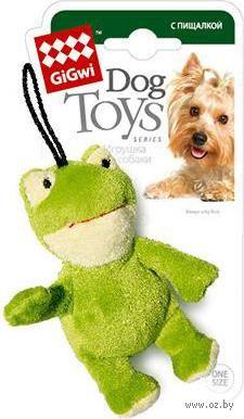 """Игрушка для собак с пищалкой """"Лягушка"""" (10 см) — фото, картинка"""