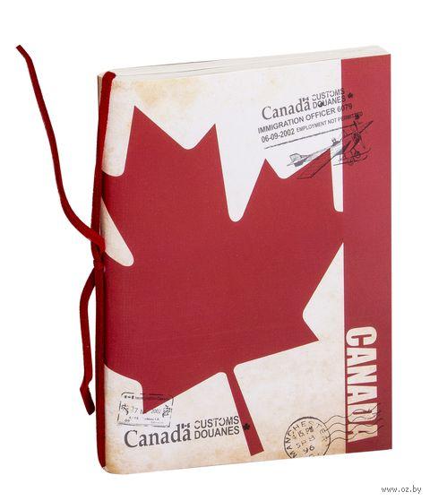 """Блокнот """"Канада"""" (А6) — фото, картинка"""