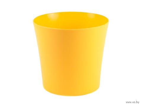 "Кашпо ""Фиалка"" (16,5 см; оранжевое) — фото, картинка"