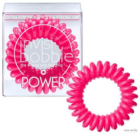 "Набор резинок-браслетов для волос ""Power Pinking of you"" (3 шт.; арт. 3054) — фото, картинка"