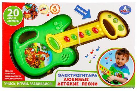 """Гитара """"Любимые детские песни"""" (со световыми эффектами) — фото, картинка"""