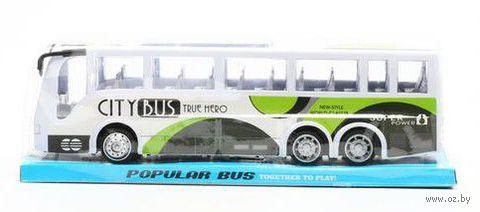 """Автобус инерционный """"City Bus True Hero"""""""