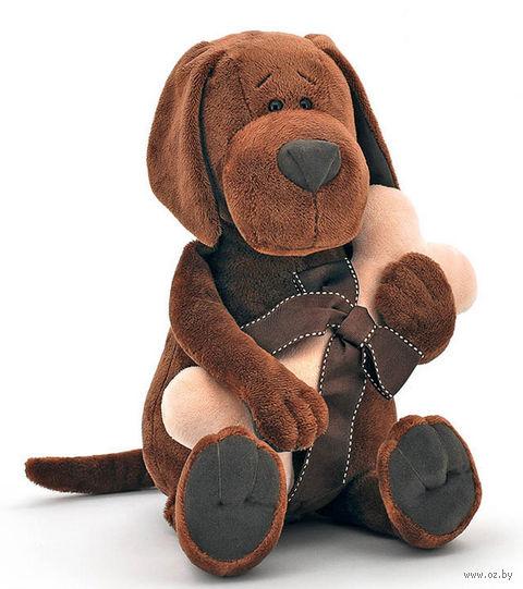 """Мягкая игрушка """"Пес Барбоська с косточкой"""" (20 см)"""