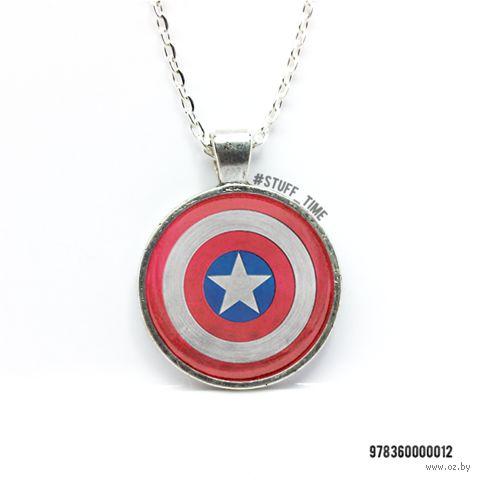 """Кулон """"Капитан Америка"""" (012)"""