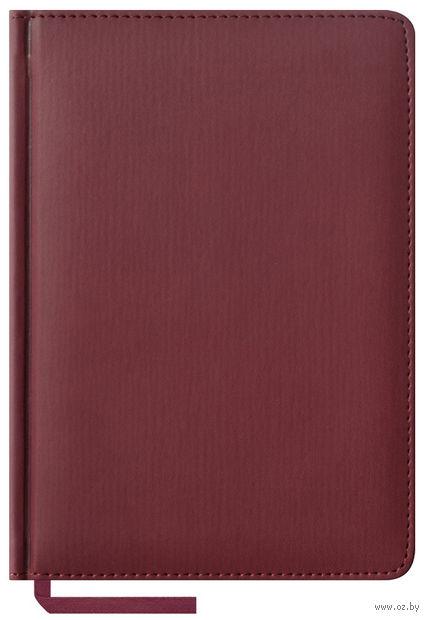 """Ежедневник недатированный """"Vivella"""" (А5; 160 листов; бордовый)"""
