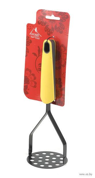 Мялка для картофеля металлическая (250 мм; арт. KW-1206)