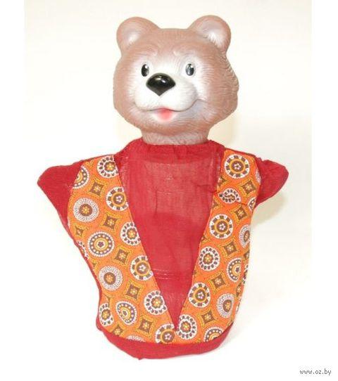 "Мягкая игрушка на руку ""Медведь"" (25 см) — фото, картинка"