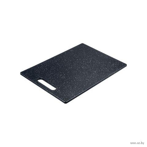 Доска разделочная пластмассовая (355х255 мм; арт. 064426) — фото, картинка