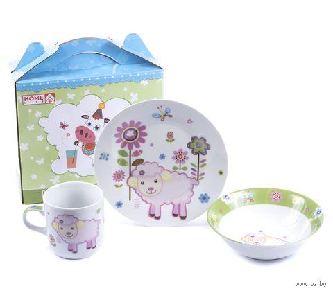 Набор для завтрака (3 предмета; арт. LX-3PCS-C505) — фото, картинка