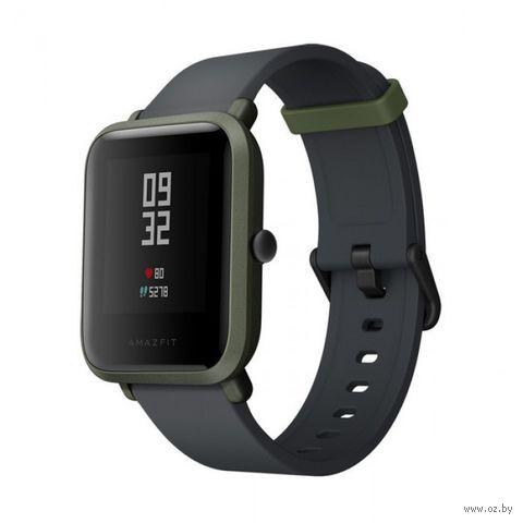 Умные часы Xiaomi Amazfit Bip (зеленые) — фото, картинка