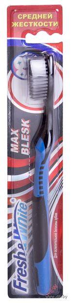"""Зубная щетка """"Max Blesk"""" (средней жесткости) — фото, картинка"""