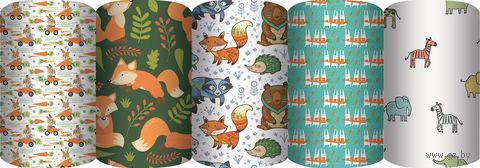 """Бумага упаковочная """"Лесные жители"""" (70х100 см; продается только в розничных магазинах OZ) — фото, картинка"""