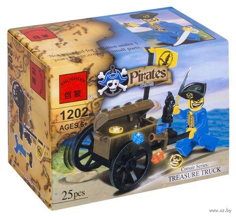 """Конструктор """"Сокровища пиратов"""" (25 деталей)"""