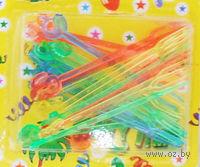 Набор шпажек пластмассовых (24 шт, 8,5 см)