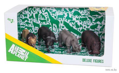 """Набор фигурок """"Animal Planet: Африка"""" (4 шт.)"""