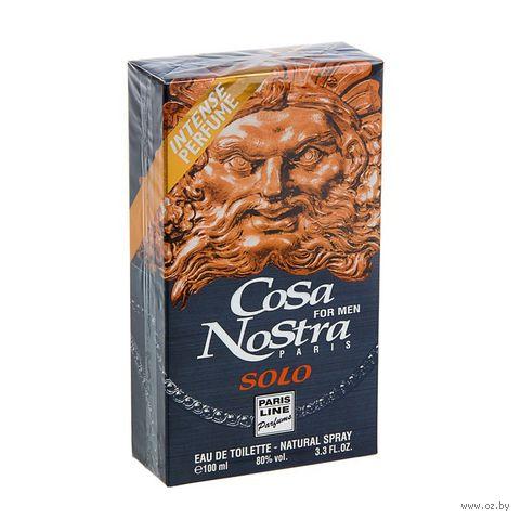 """Туалетная вода для мужчин """"Cosa Nostra Solo"""" (100 мл) — фото, картинка"""