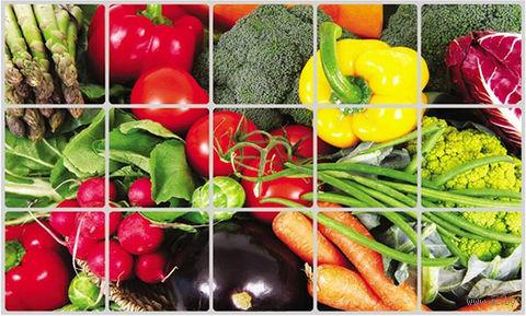 """Экран защитный кухонный """"Овощи"""" (45х75 см) — фото, картинка"""