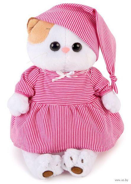 """Мягкая игрушка """"Кошечка Ли-Ли в розовой пижамке"""" (24 см) — фото, картинка"""