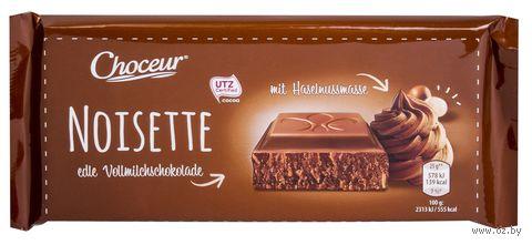 "Шоколад молочный ""Choceur. Тертый фундук"" (100 г) — фото, картинка"